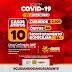 Jaguarari registra um óbito e 04 novos casos de coronavírus no Boletim desta segunda-feira (05)