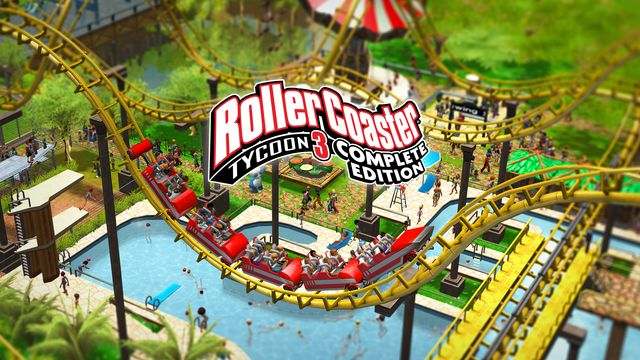 RollerCoaster Tycoon 3 Complete Edition v1.0 NSP XCI NSZ For Nintendo Switch
