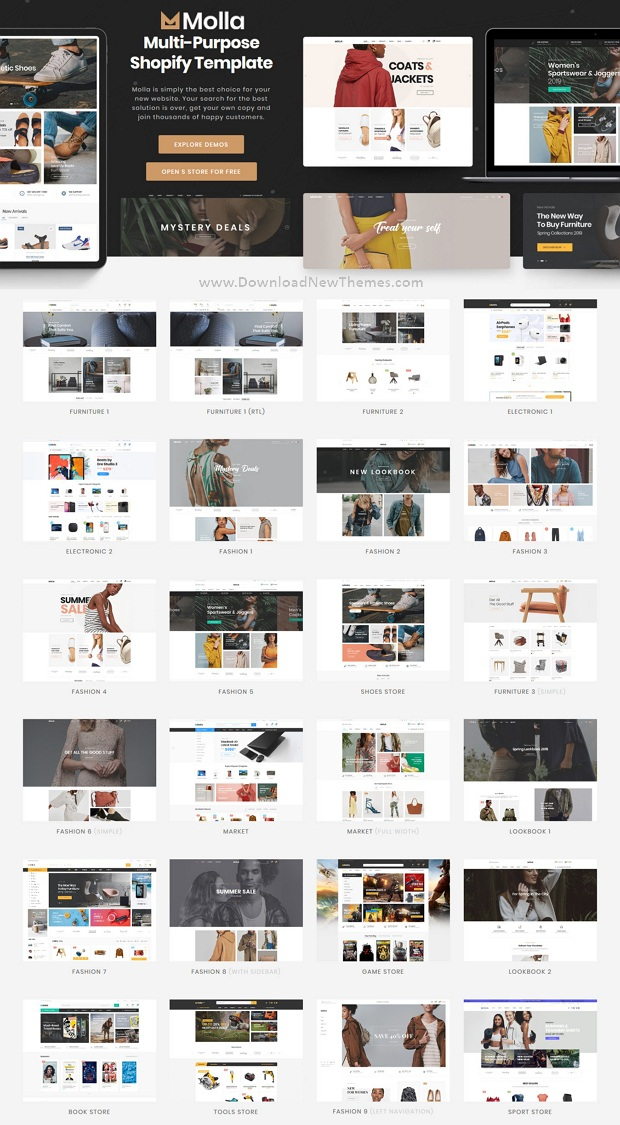 Multipurpose Responsive Shopify Theme