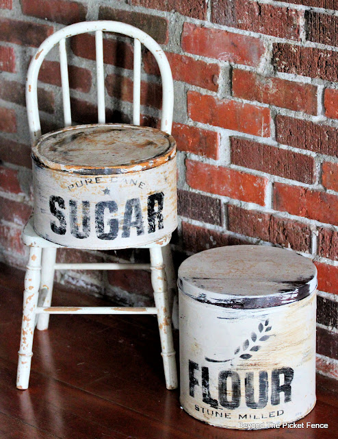 Create Farmhouse Canisters