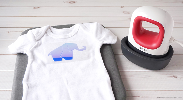 Baby Onesie with Cricut EasyPress Mini