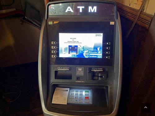 Bitcoin ATMs are very popular