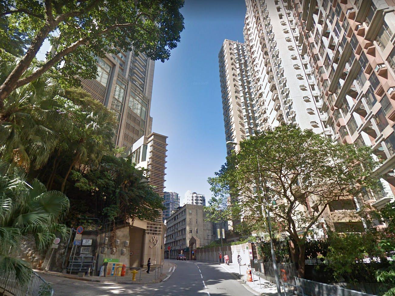 Đường Conduit, Hồng Kông