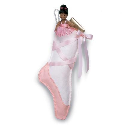 Ballet Slipper Stocking Craft