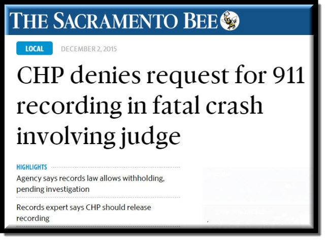 Sacramento Family Court Report: Highway Patrol Refuses to Release