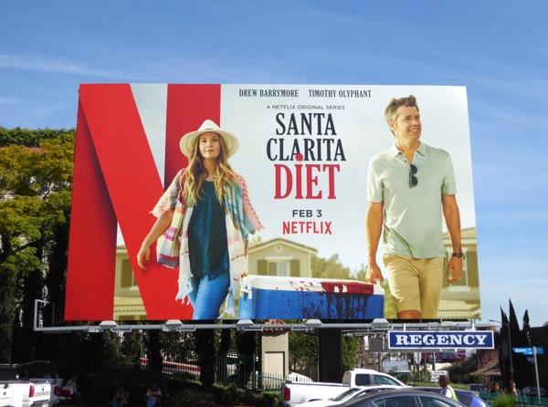 Santa Clarita Diet series premiere billboard