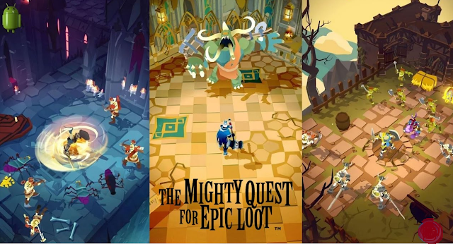 Mighty Quest for Epic Loot Top Best Action Games for Android!