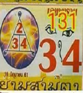 Thai Lottery King Final Guidelines For 01-12-2018 | Thailand Lottery Outcome
