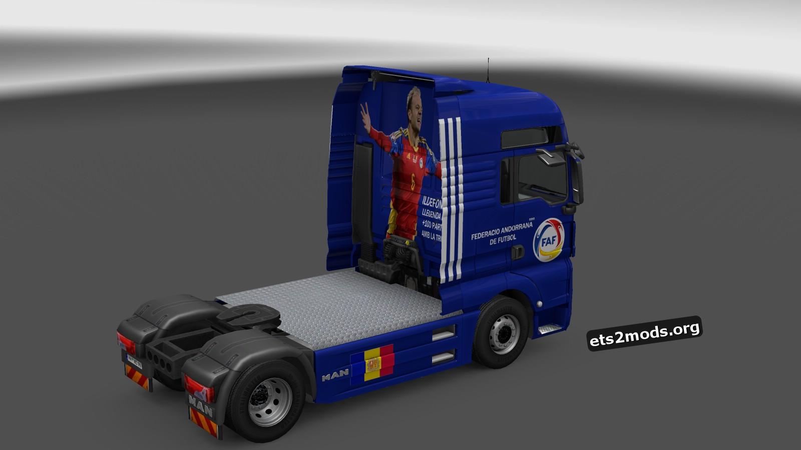 Andorra NFT Skin for MAN TGX