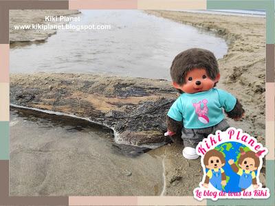 kiki Monchhichi plage honfleur beach normandy