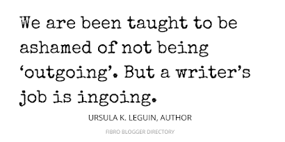 Ursula K. LeGuin quote about writing