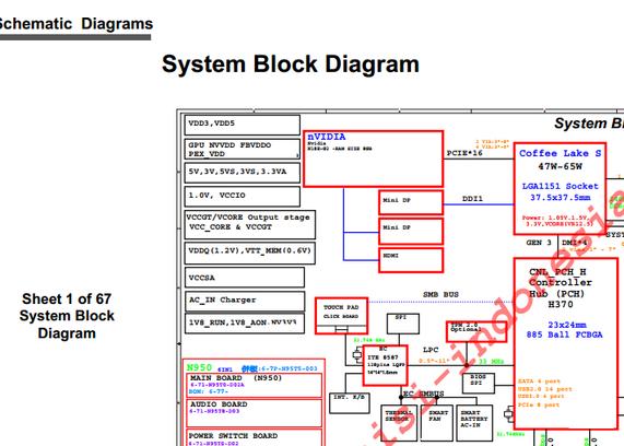 6-71-C4800-D04 GP Clevo C4800 Axioo NEON-NMW Schematic