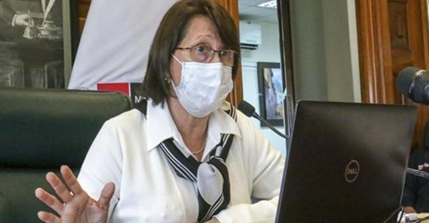 MINSA: Se analizarán nuevas medidas ante mutación del Coronavirus en el Reino Unido, informó la Ministra de Salud, Pilar Mazzetti