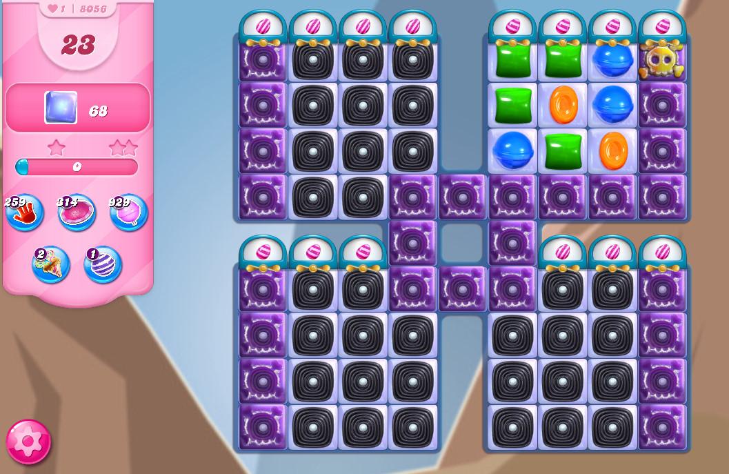 Candy Crush Saga level 8056