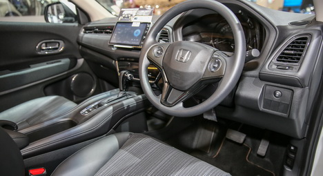 Interior Honda HR-V Mugen Versi Indonesia