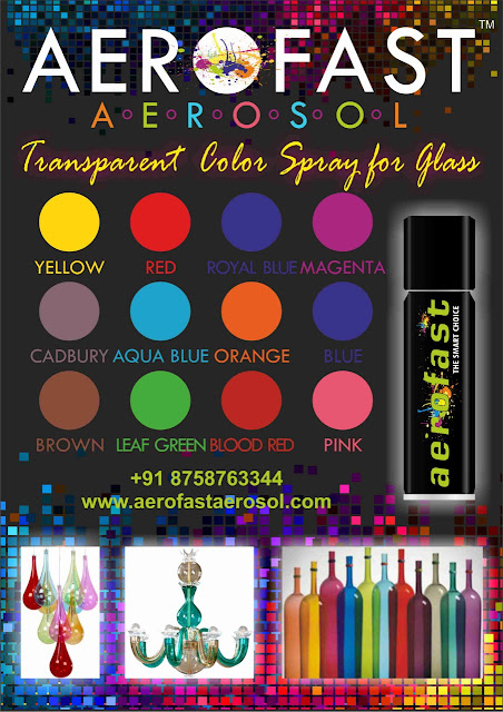 AEROFAST AEROSOL - 8758763344 TRANSPARENT COLOR SPRAY PAINT