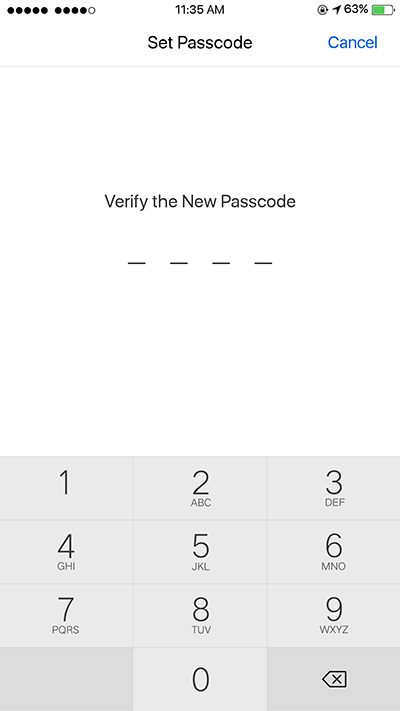 Oppo F3 Setup Simple Security Passcode