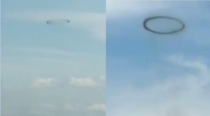 Heboh Lingkaran Hitam di Langit Kulon Progo, Ternyata Begini Kejadiannya
