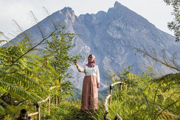 Gunung Merapi di Yogyakarta