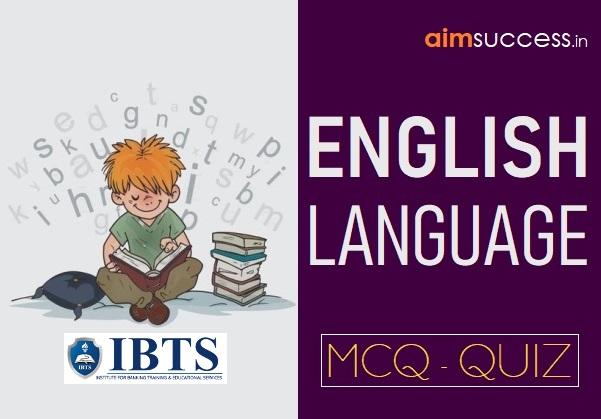 English MCQs for IBPS PO/ Clerk/ SEBI/ ESIC 2018: 23 October