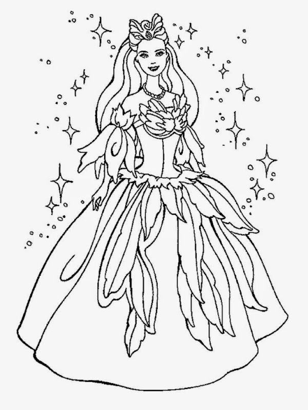 princess coloring pages   Free Large Images