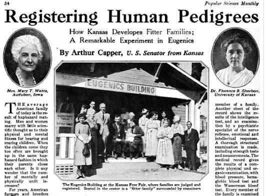 eugenics racism Nazi medicine vaccines healthcare