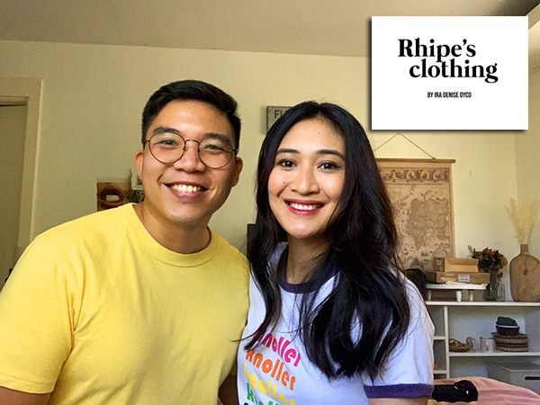 Paolo and Ira of Rhipe's clothing