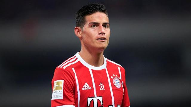Ancelotti Nantikan Umpan-umpan Jitu James untuk Para Striker Bayern