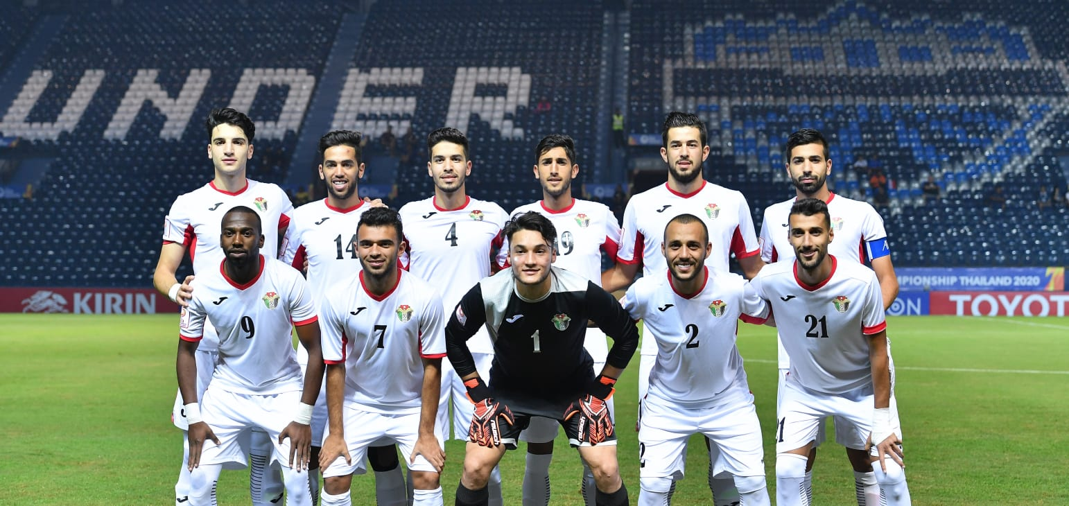 Jordan Starting XI vs UAE 01.16.20