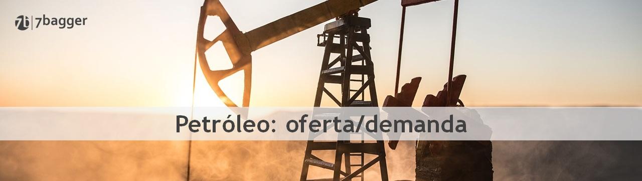 Petróleo oferta demanda