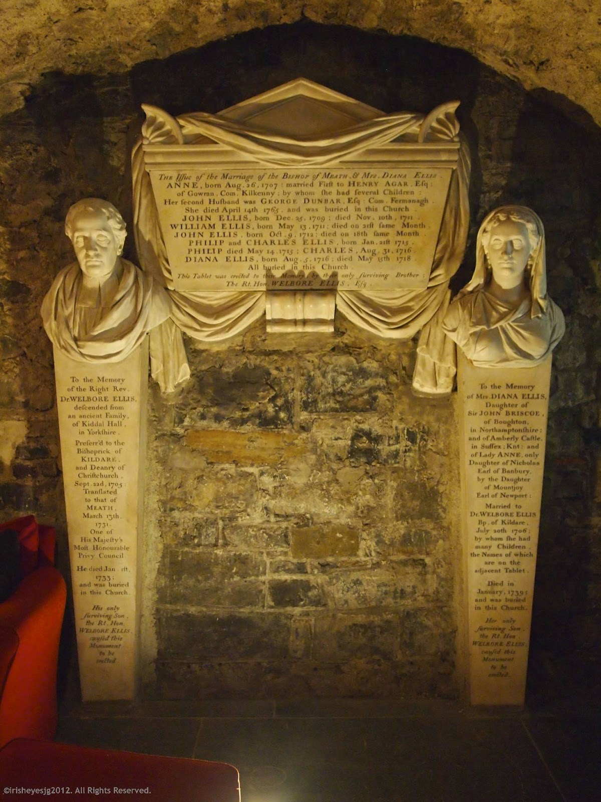 Over Thy Dead Body A Cemetery Blog Wordless Wednesday Almost In The Crypt Of Christ Church Cathedral Dublin