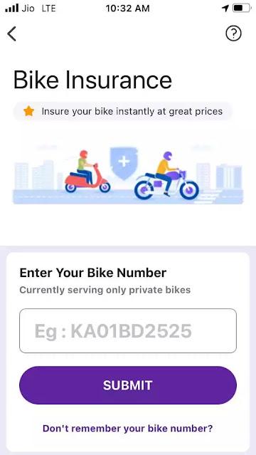 PhonePe App se Bike Insurance Kaise kare