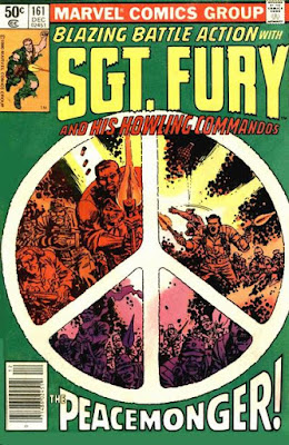 Sgt Fury and his Howling Commandos #161, Peacemonger