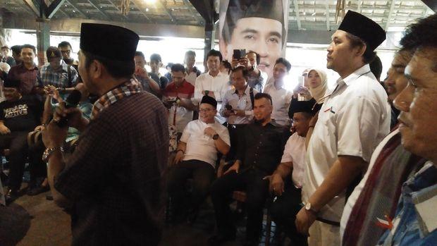 Saat Ahmad Dhani Dan Lulung Bersatu Deklarasi Dukung Yusril di Pilgub