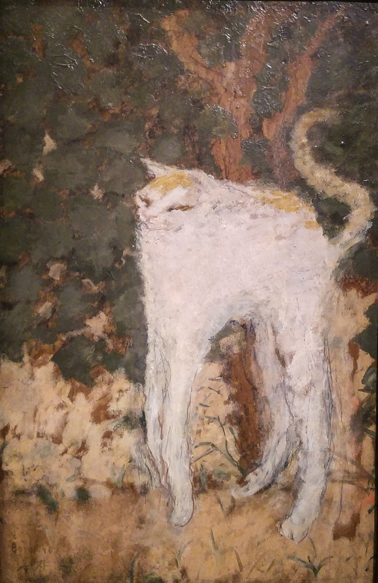 long legged cat by pierre bonnard