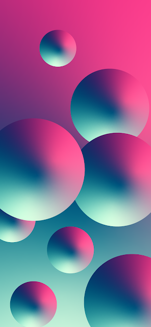 Wallpaper iphone - Abstract balls