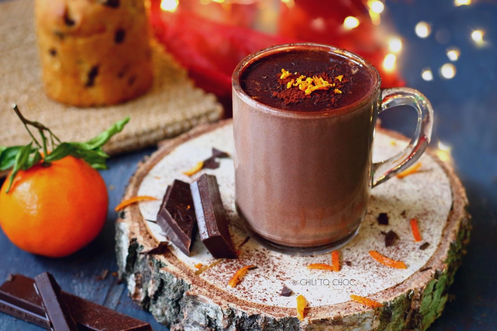 Orange Hot Chocolate - Recipe