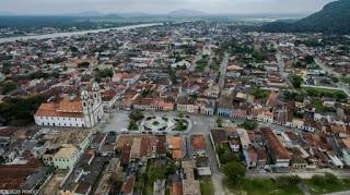 Vista geral de Iguape. Crédito: Sérgio Prado.