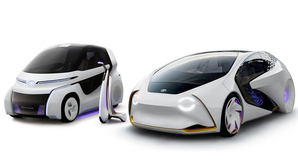 Toyota Concept-i series pieces together door-to-door mobility