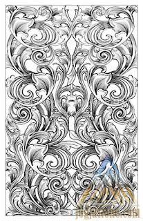 sketsa Desain gambar Ukiran untuk batu alam paras jogja/ batu paras putih