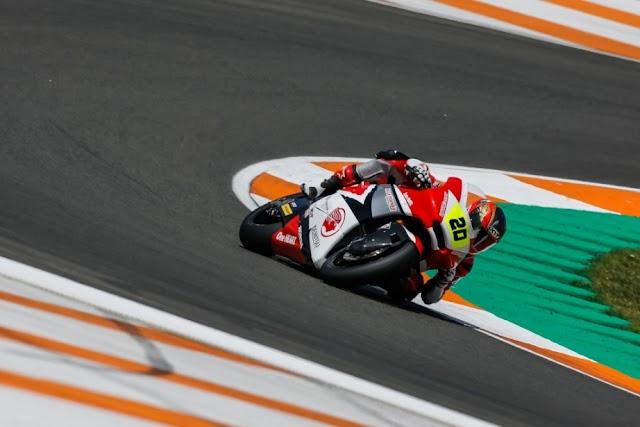 Finish di Posisi 6 di Valencia, Dimas Ekky Amankan Posisi 3 Klasemen Pebalap CEV Moto2