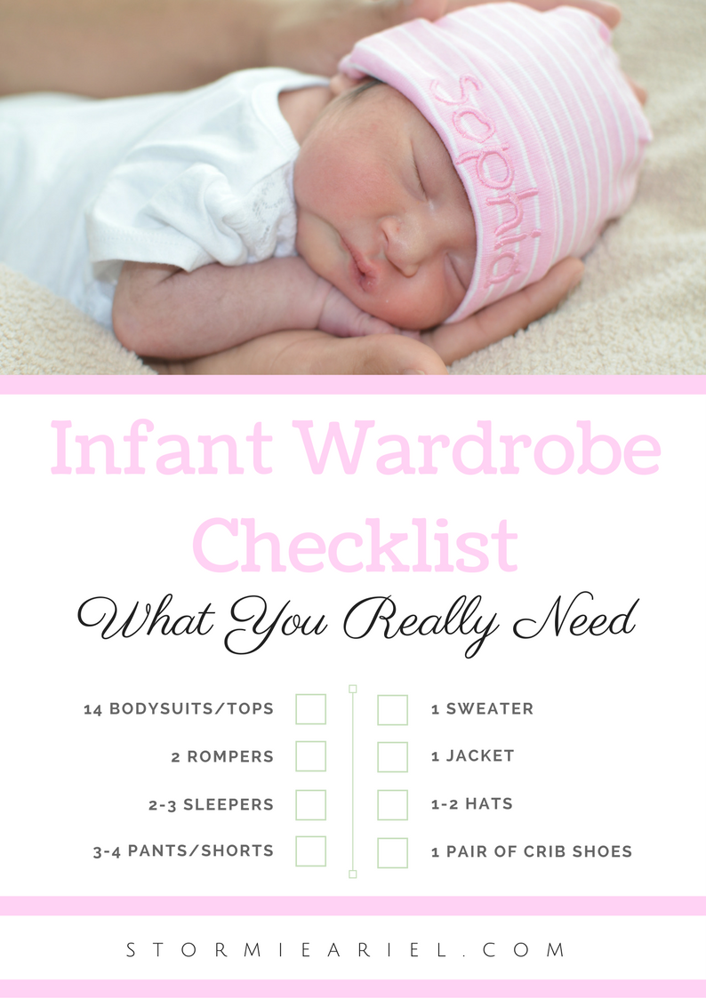 Infant Wardrobe | What You Really Need