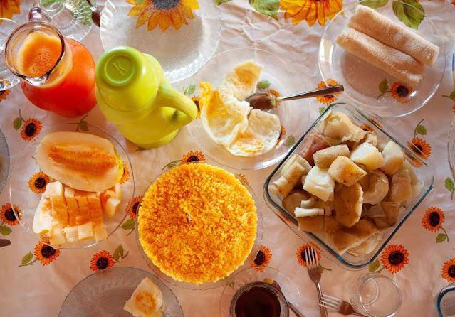 Café da Manhã na Comunidade Baixão (Foto: Acony Santos)