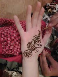 Bird Design Mehndi For Kid! Art Magazine