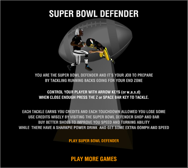 Super Bowl Defender - Simply The Best Super Bowl Game