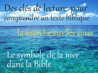 symbole de la mer dans la bible