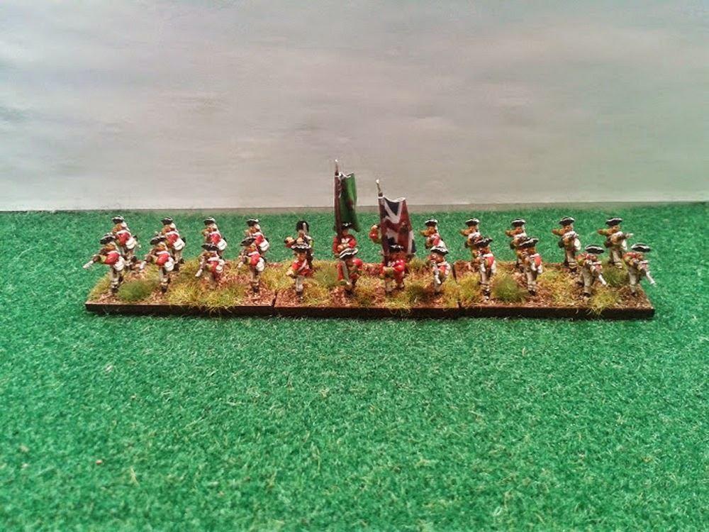 The 5th Regiment of Foot