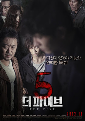 The Five, Movie, Filem The Five, Korean Movie, 2013, Korean Film, Review By Miss Banu, Blog Miss Banu Story, Drama Dan Filem Korea Bulan March 2018, Pelakon Filem The Five, The Five Cast, Kim Sun Ah, Ma Dong Seok, Lee Chung Ah, On Joo Wan, Shin Jung Keun,