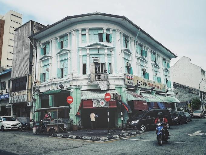 Pusing Keliling Bandar Georgetown, Pulau Pinang