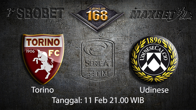 PREDIKSIBOLA - PREDIKSI TARUHAN BOLA TORINO VS UDINESE 11 FEBRUARI 2018 ( ITALIAN SERIE A  )